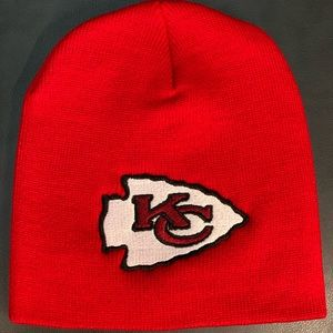 Other - Kansas City Chiefs Beanie Hat